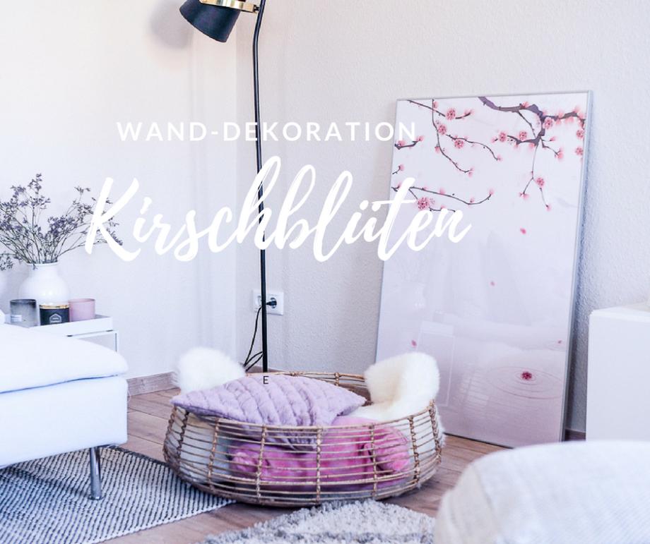 HOME & LIVING: Kirschblüten für die Wand und absolute Begeisterung für Pixers!