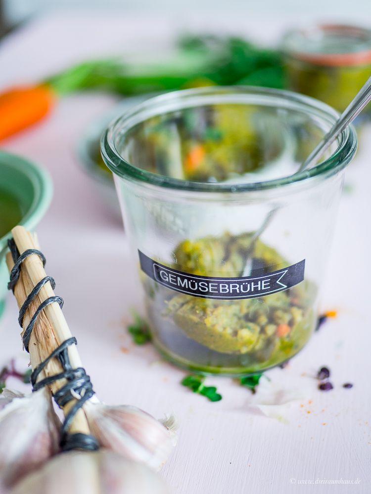 Gemüsebrühe Püree   Rezepte Die Glücklich Machen   Basisrezepte!