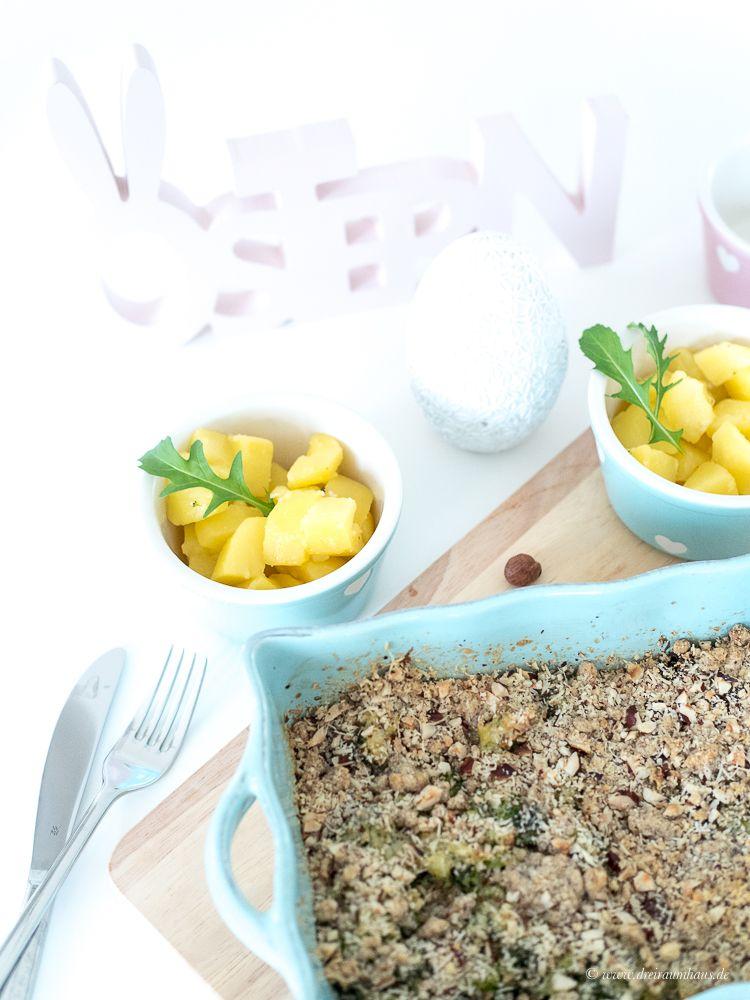 Lauchcrumble mit Backpflaumen - ein Rezept für die Aufbauphase in der Fastenzeit!