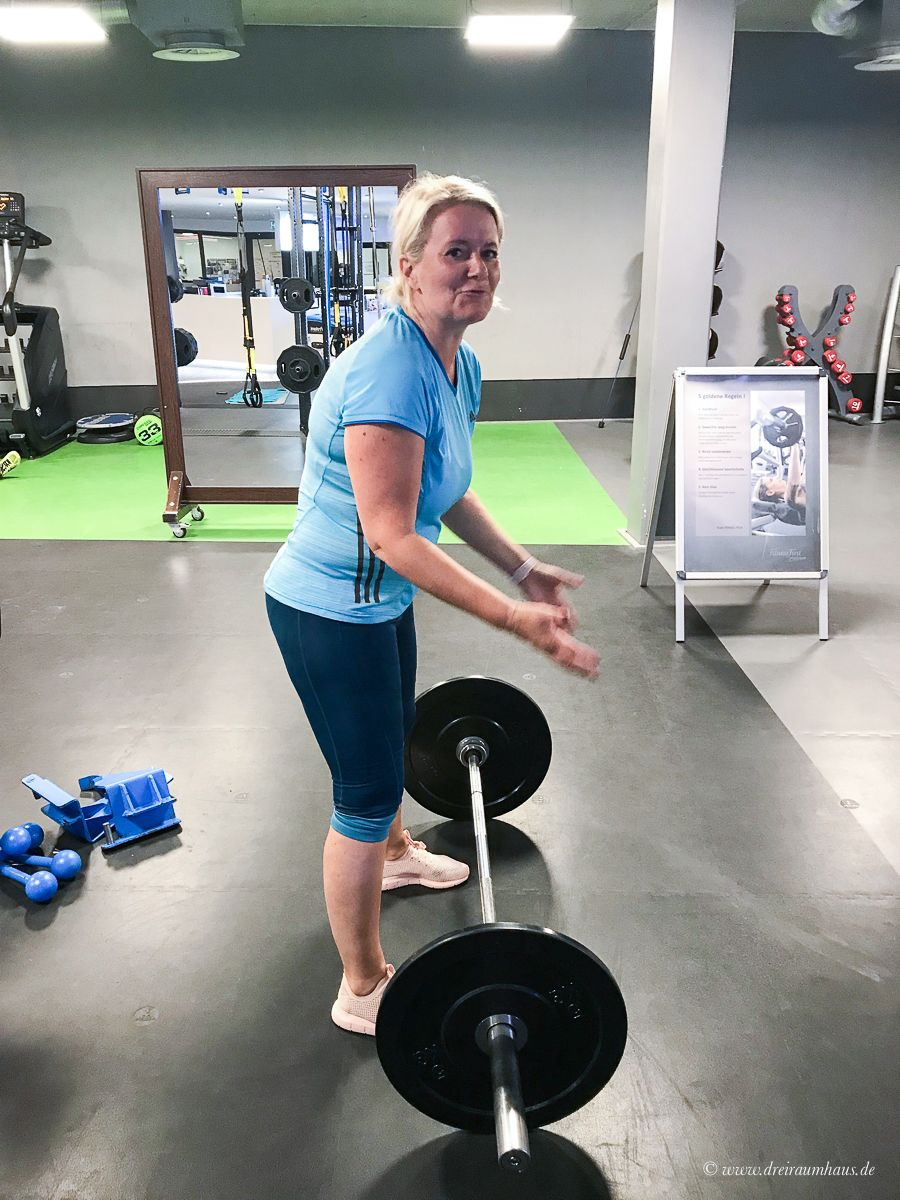 15 Kilo zu viel und Das Fitness First #Mutcamp!