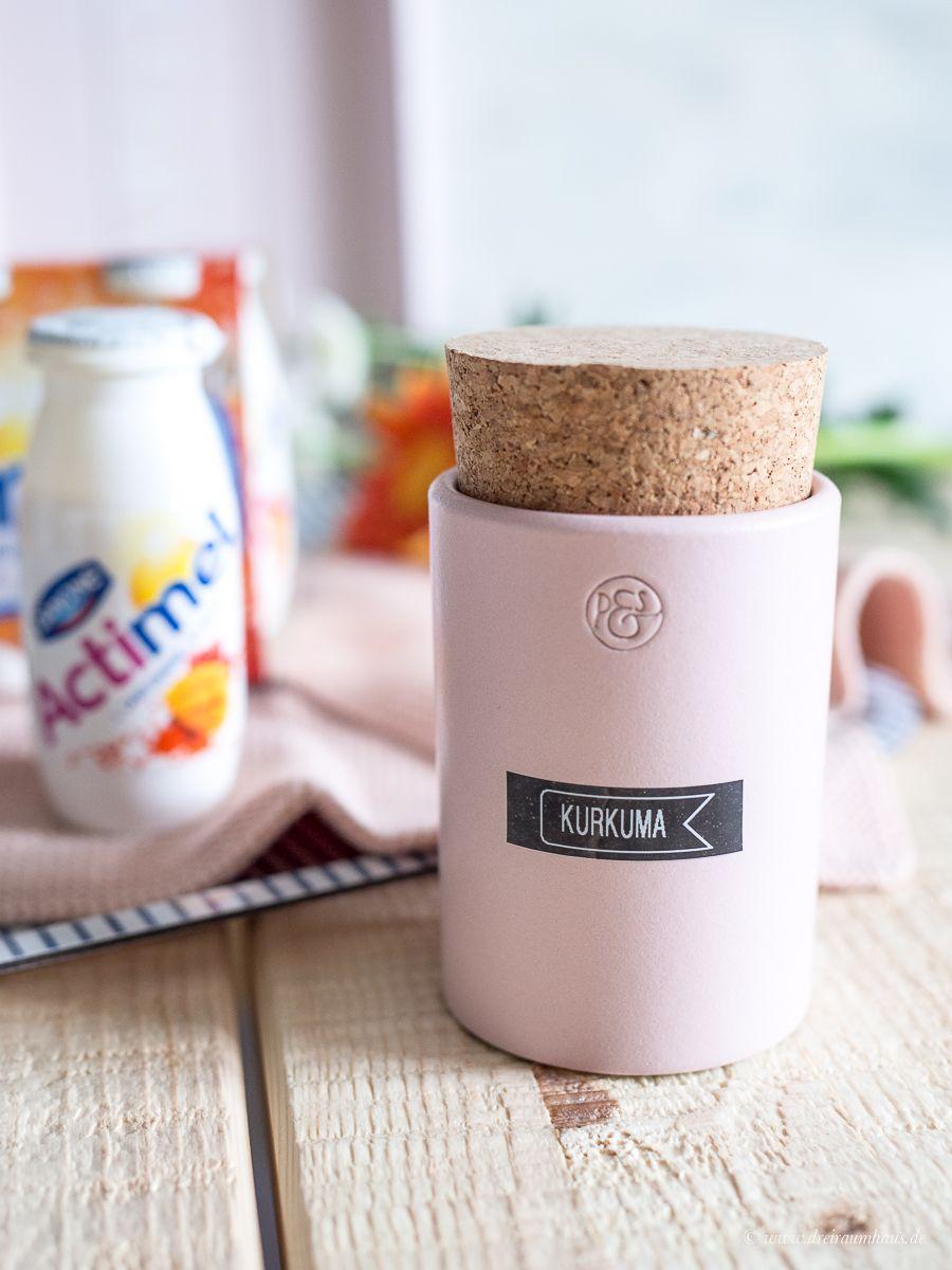 Die Dynamik des Lebens oder Eis am Stiel zum Frühstück mit Actimel! Dein Start in den Morgen mit Actimel Mango-Kurkuma-Goji - der Danone Frühstücksdrink!