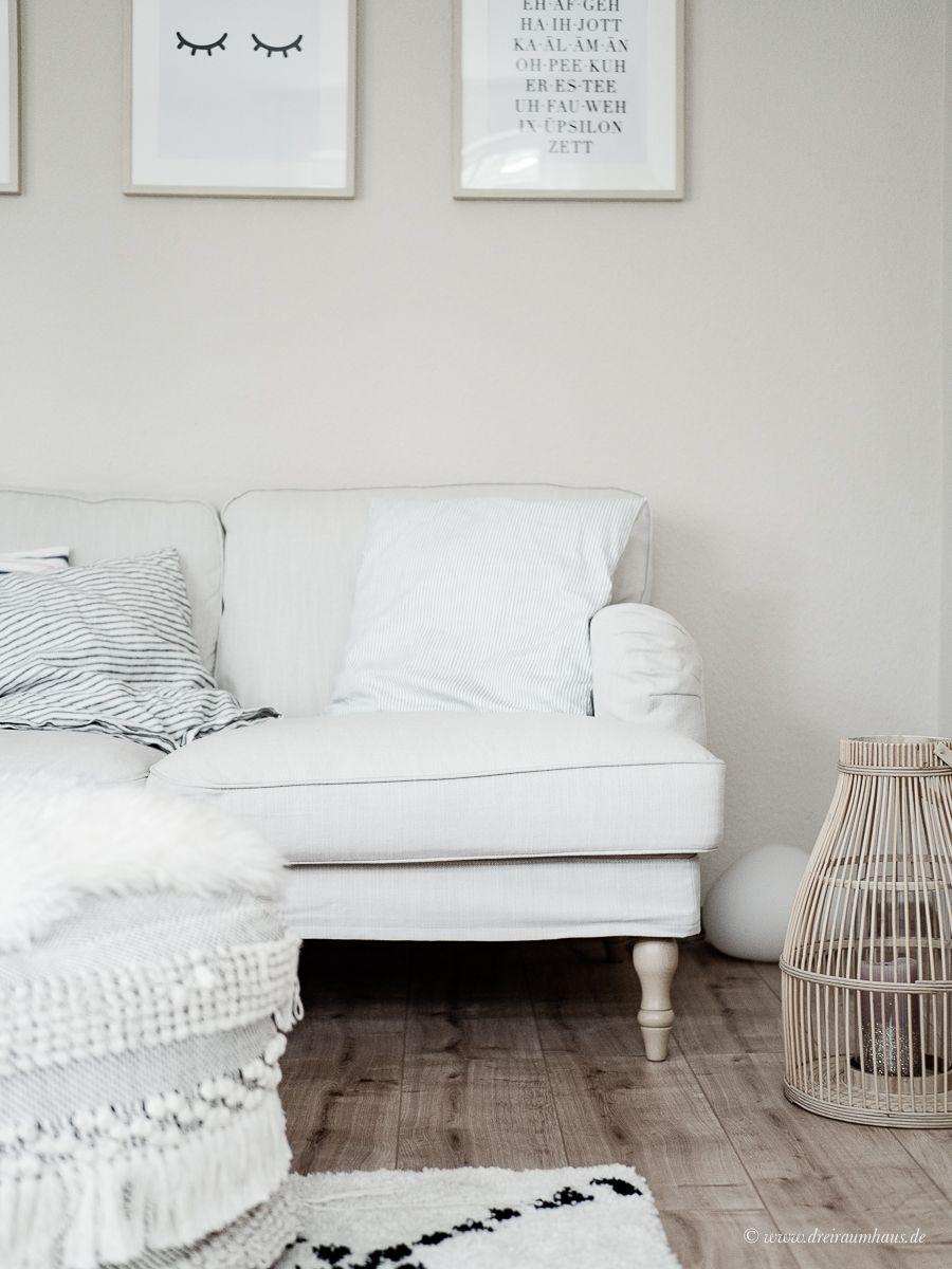 Im heutigen Dekosamstag geht es um: Ein Stocksund Sofa von IKEA, ein Rauten Teppich Mit Rug von Wayfair und eine Louis Poulsen Panthella Mini Tischleuchte. Und es geht auch um Kompromisse oder warum man in der Regel auf Kompromisse verzichten sollte.