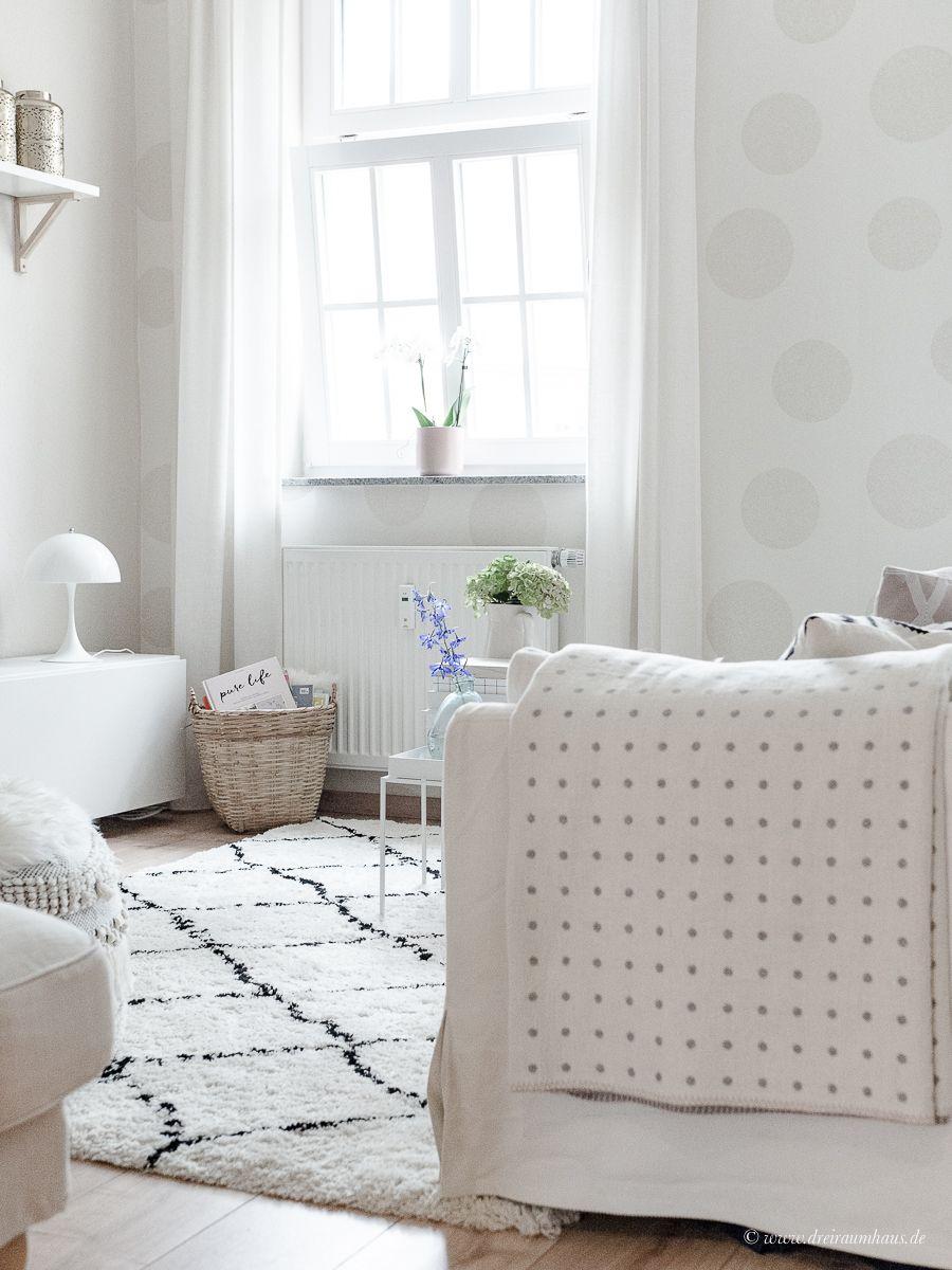 Dekosamstag Ikea Stocksund Sofa Rauten Teppich Louis Poulsen