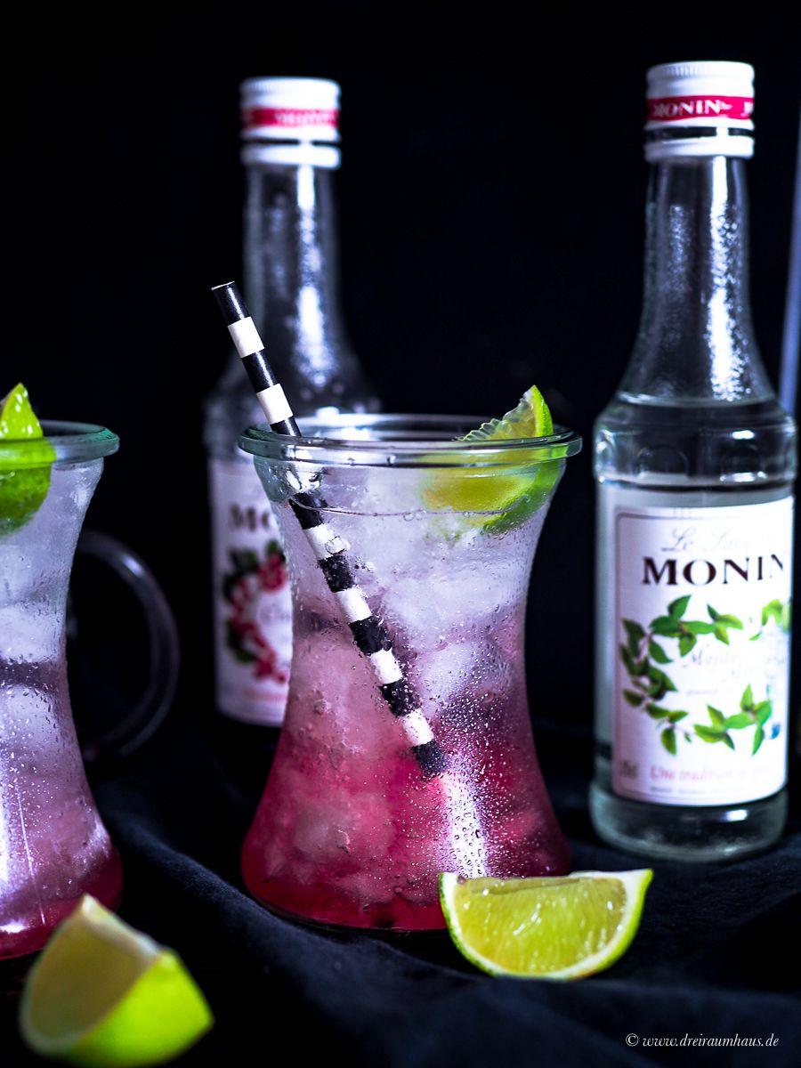 Die Sache mit dem Mut und ein fabelhafter Granatapfel Gin für Euch! Wochengedanken und Kolumne und ein Rezept mit MONIN Sirup
