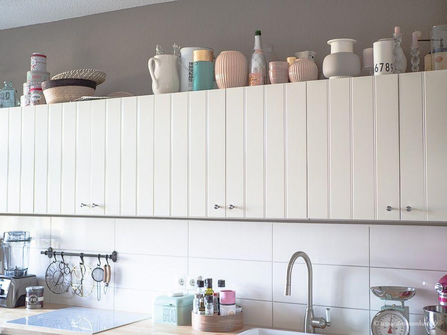 Dekosamstag: Die Flexibilität von IKEA Küchen und ein neuer Boden! Ikea Küche und Ikea Hittarp Landhausküche Küchenplanung!