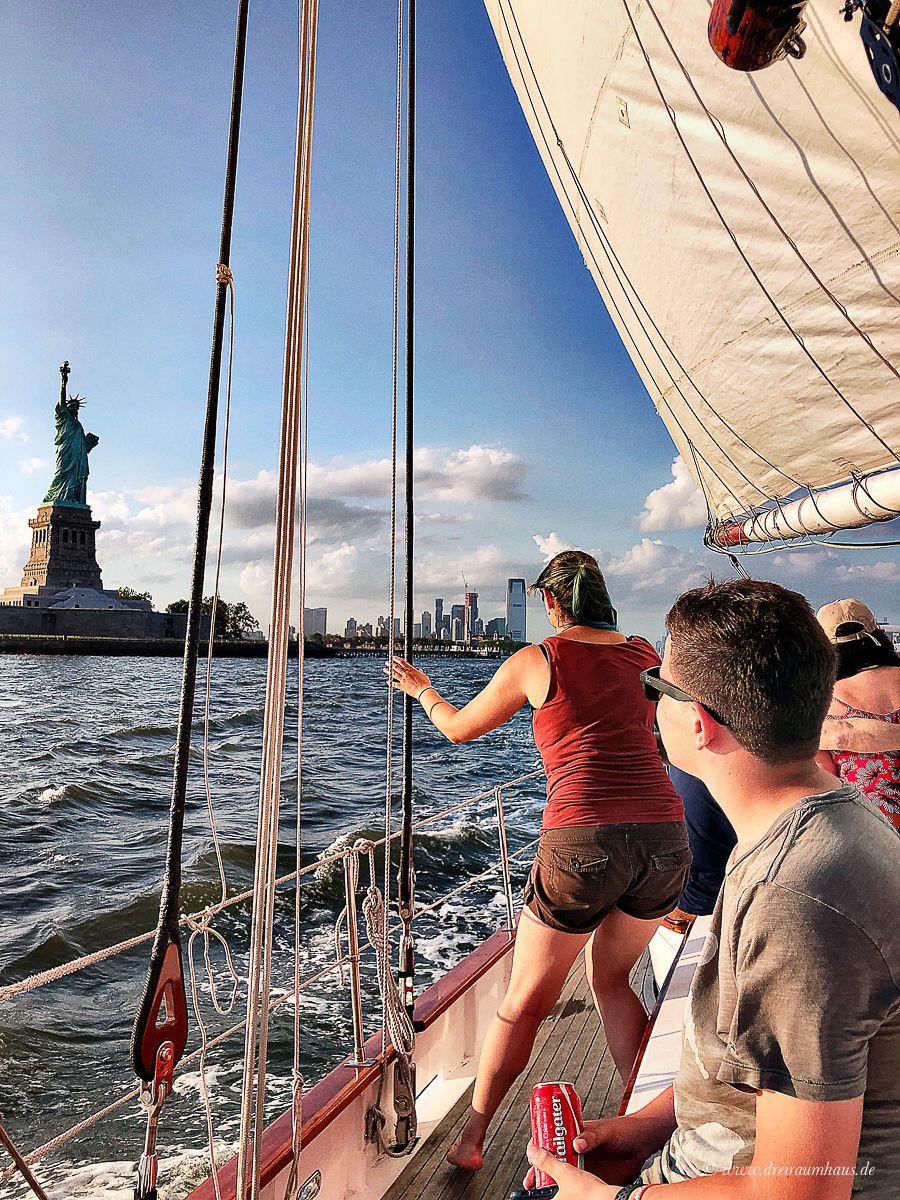 Sommerferien in New York #3: Union Square, Chelsea Market und mit dem Segelschiff um Manhattan schippern!