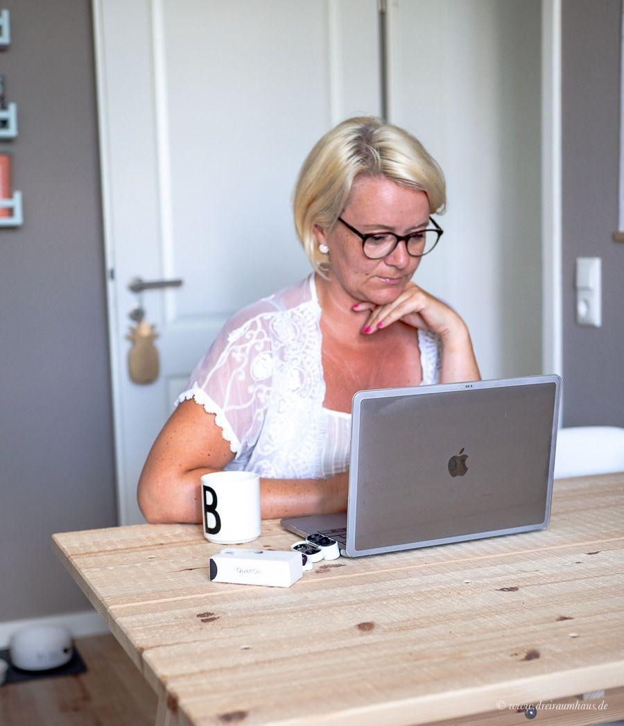 Eigentlich hätte ich gern ein eigenes Büro…ACTIVE NOISE CANCELLING mit QuietOn!