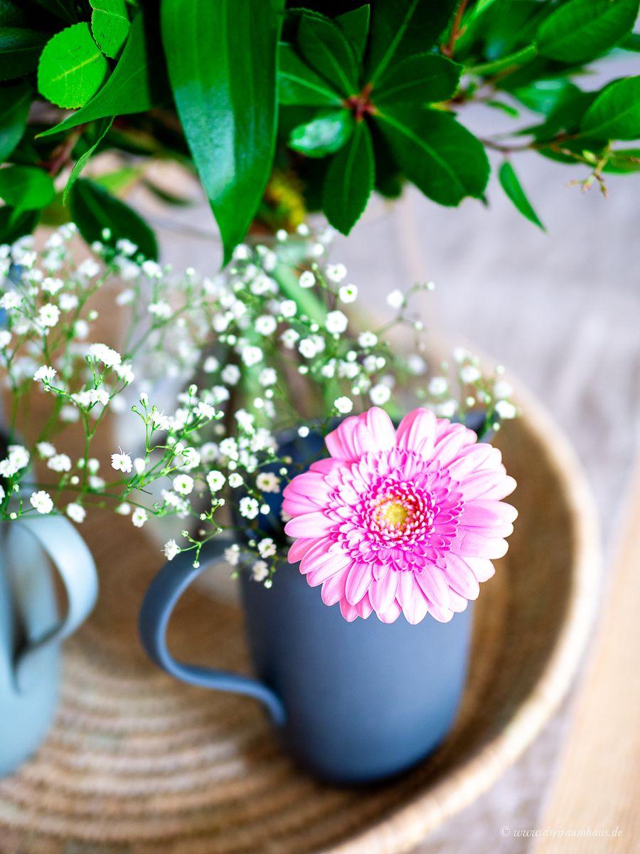 Dekosamstag: 1, 2, 3 Kännchen für die Blumen und Sostrene Grene Leipzig!