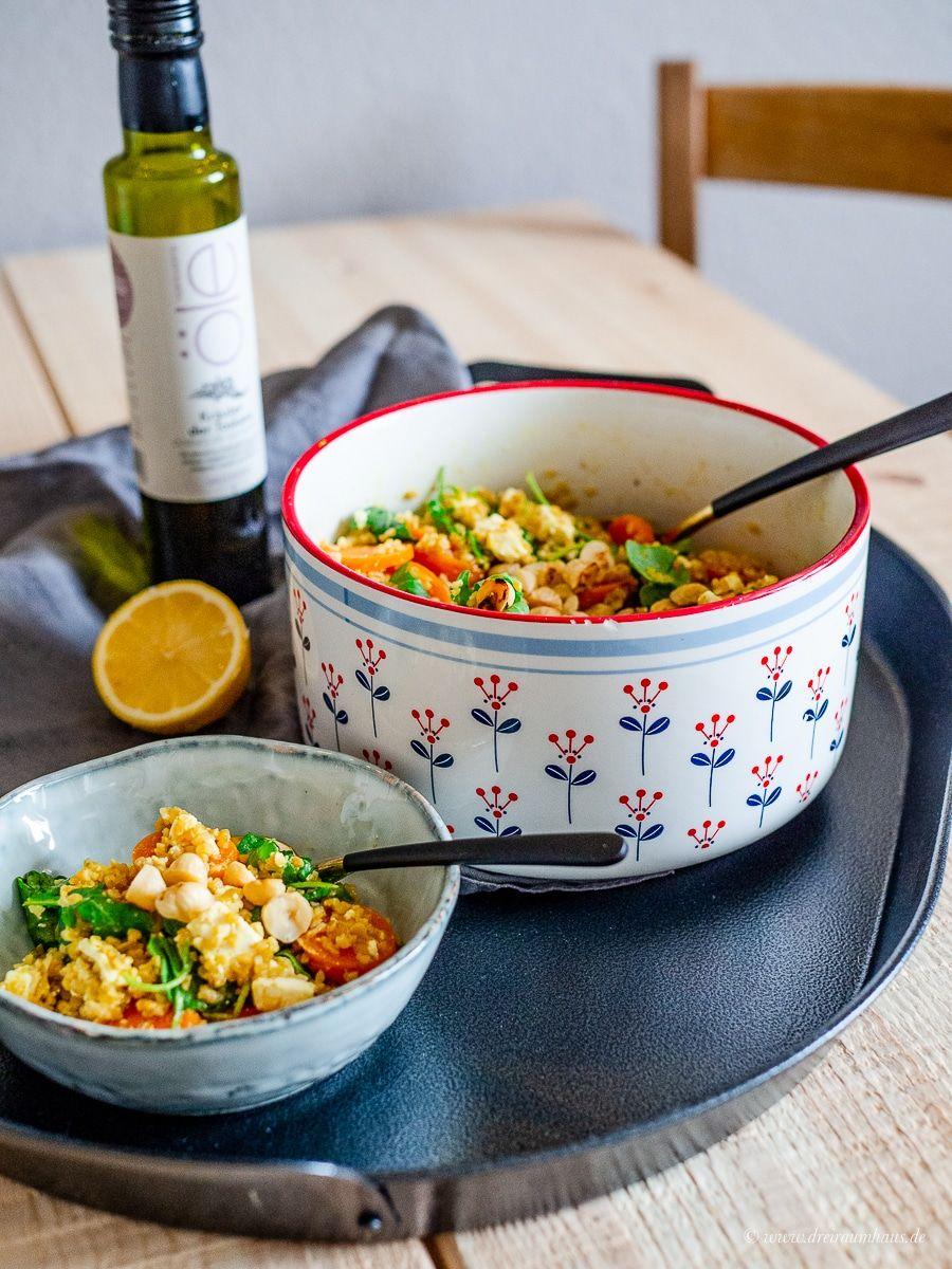 Heute gibt es ein neues Rezept aus der Marley Spoon Woche für Euch. Küchengeflüster im Alltag: Haselnuss-Bulgur mit Honigmöhren und Fetakäse!