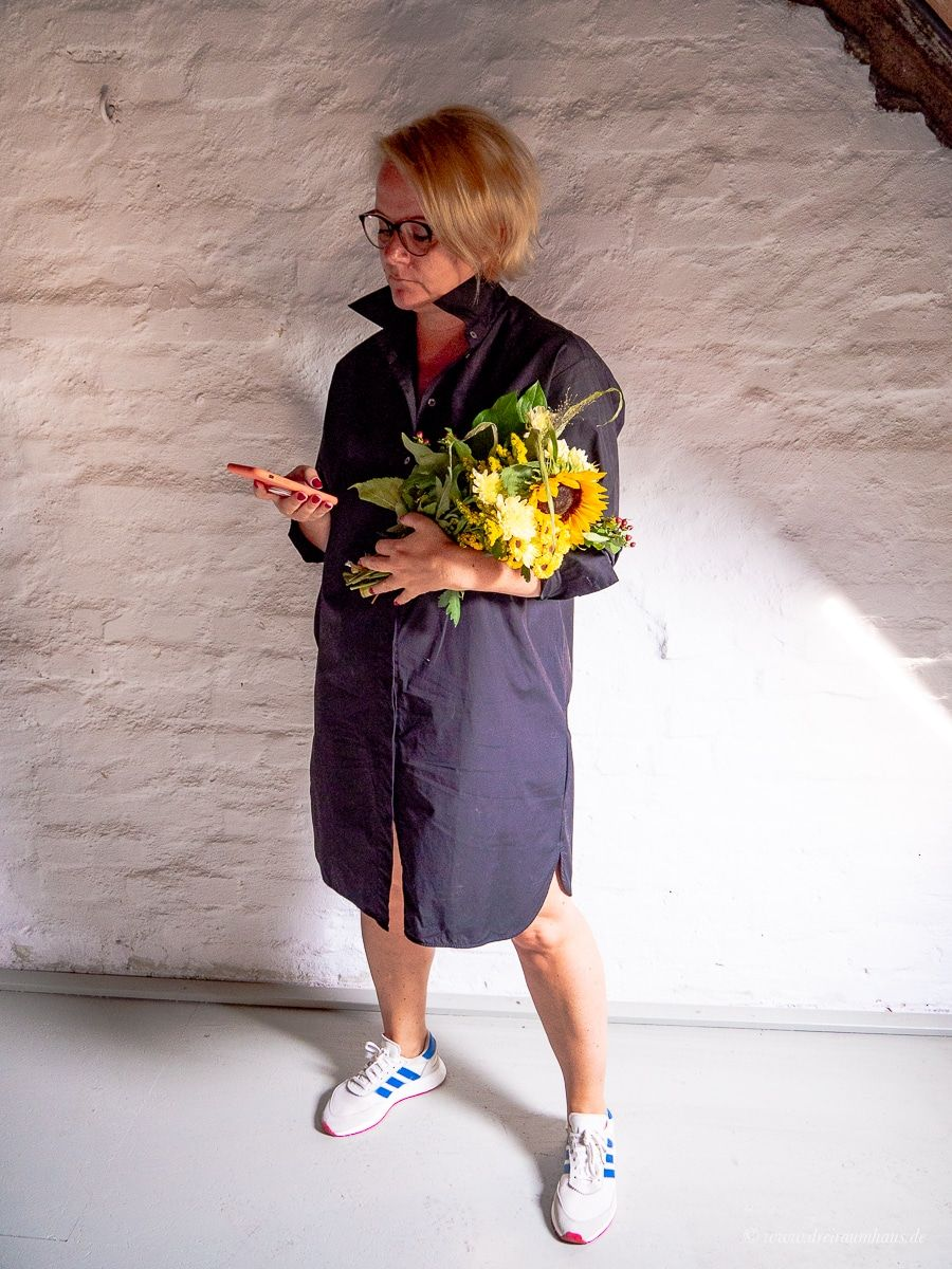 ein oversize hemdkleid zum wohlf hlen f r den herbst von marc o polo. Black Bedroom Furniture Sets. Home Design Ideas