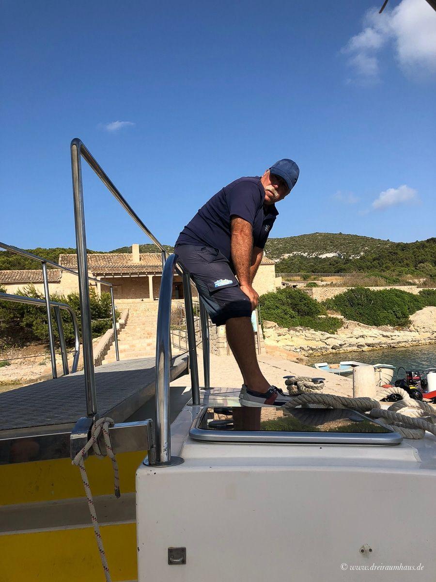 Mallorca - unser Ausflug nach Cabrera und zur blauen Lagune mit marcabrera!