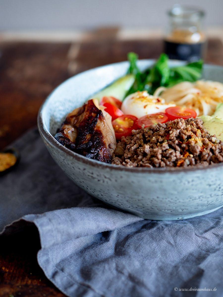 Küchengeflüster für den Alltag: Thai Beef Bowl – ein Knaller!