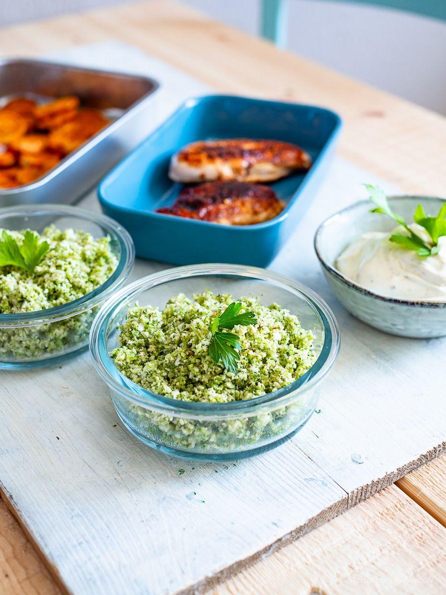 Ein gesunder und leckerer Montag mit 5 Zutaten aus einem (fast) leeren Kühlschrank!