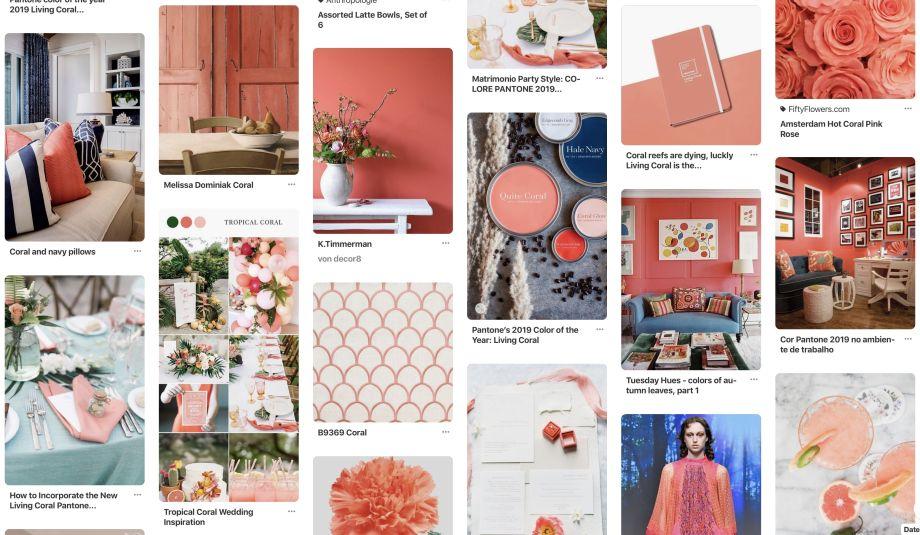 LIVING: Trendfarben 2019: Living Coral & Blau!