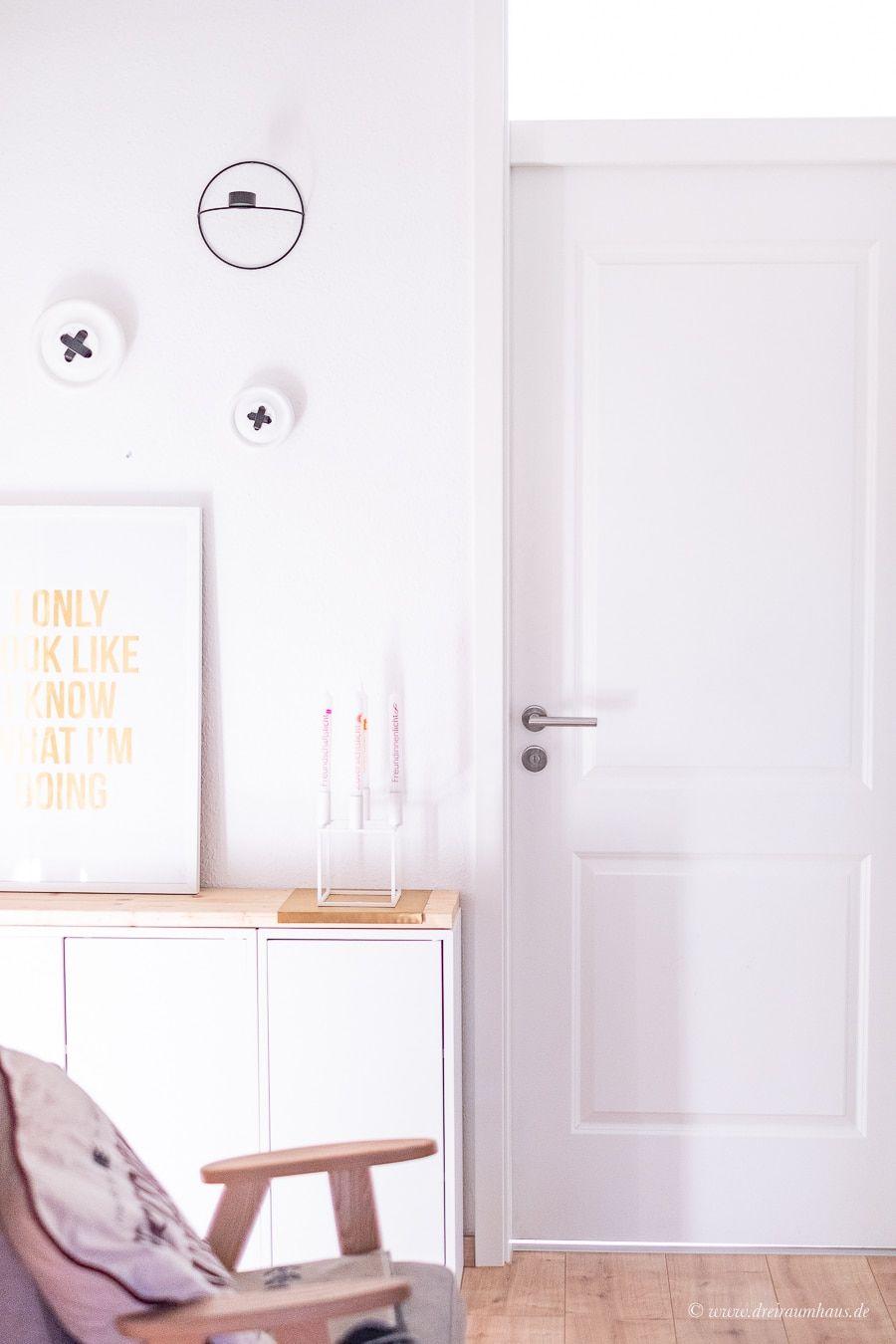 Dekosamstag: Eine Bilderwand im Flur und warum es einfach immer besser wird mit meiner Wohnung und mir!