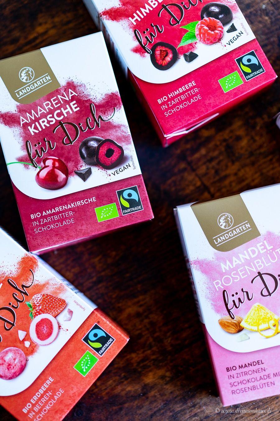 Warum Schokogenuss Bio und Fairtrade verdammt lecker sein kann! Meine neuen Schoko-Favoriten von Landgarten!