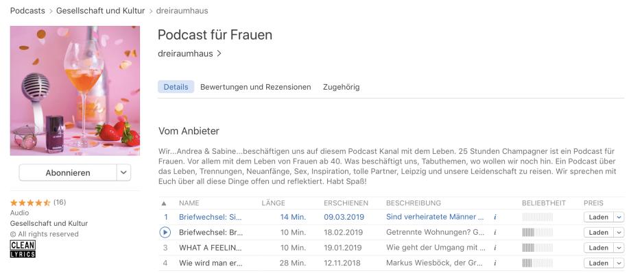 dreiraumhaus Podcast