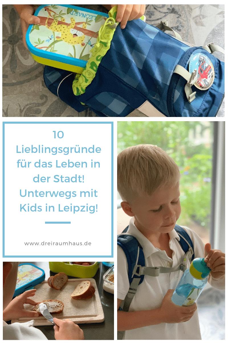 10 Lieblingsgründe für das Leben in unserer Stadt mit Kindern... unterwegs in Leipzig