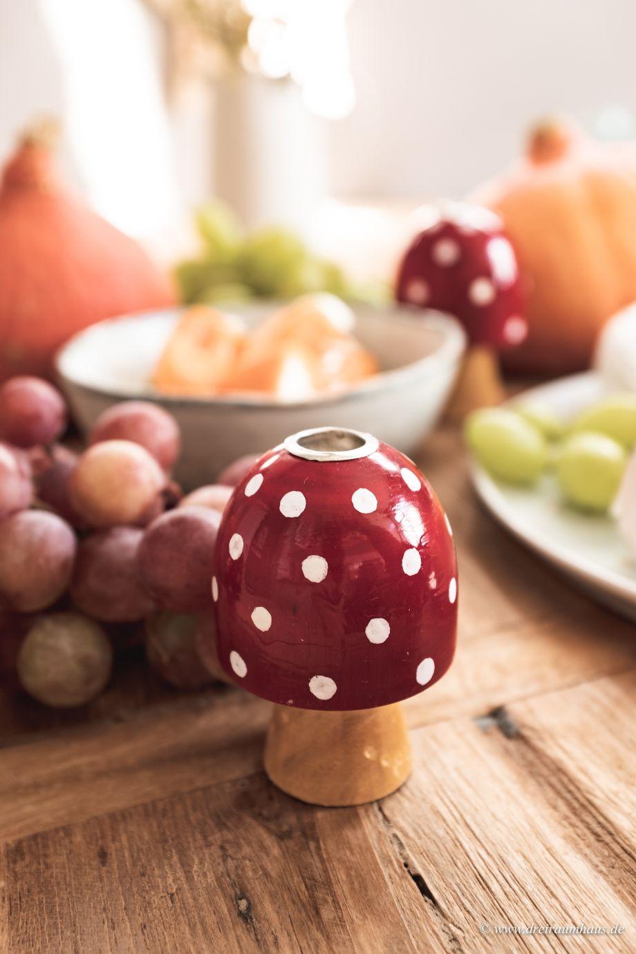Dekosamstag: Schlichte Herbstdeko und ein Tomatenbrot aus dem Topf!