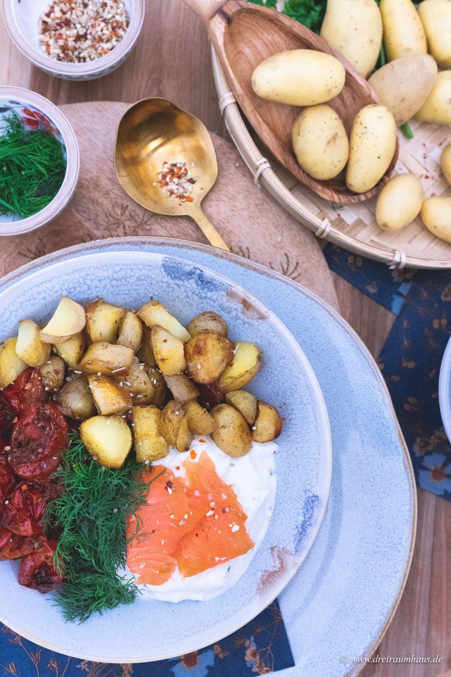 Mediterrane Kartoffel-Bowl... und ab zum Kartoffelfest in Leipzig!