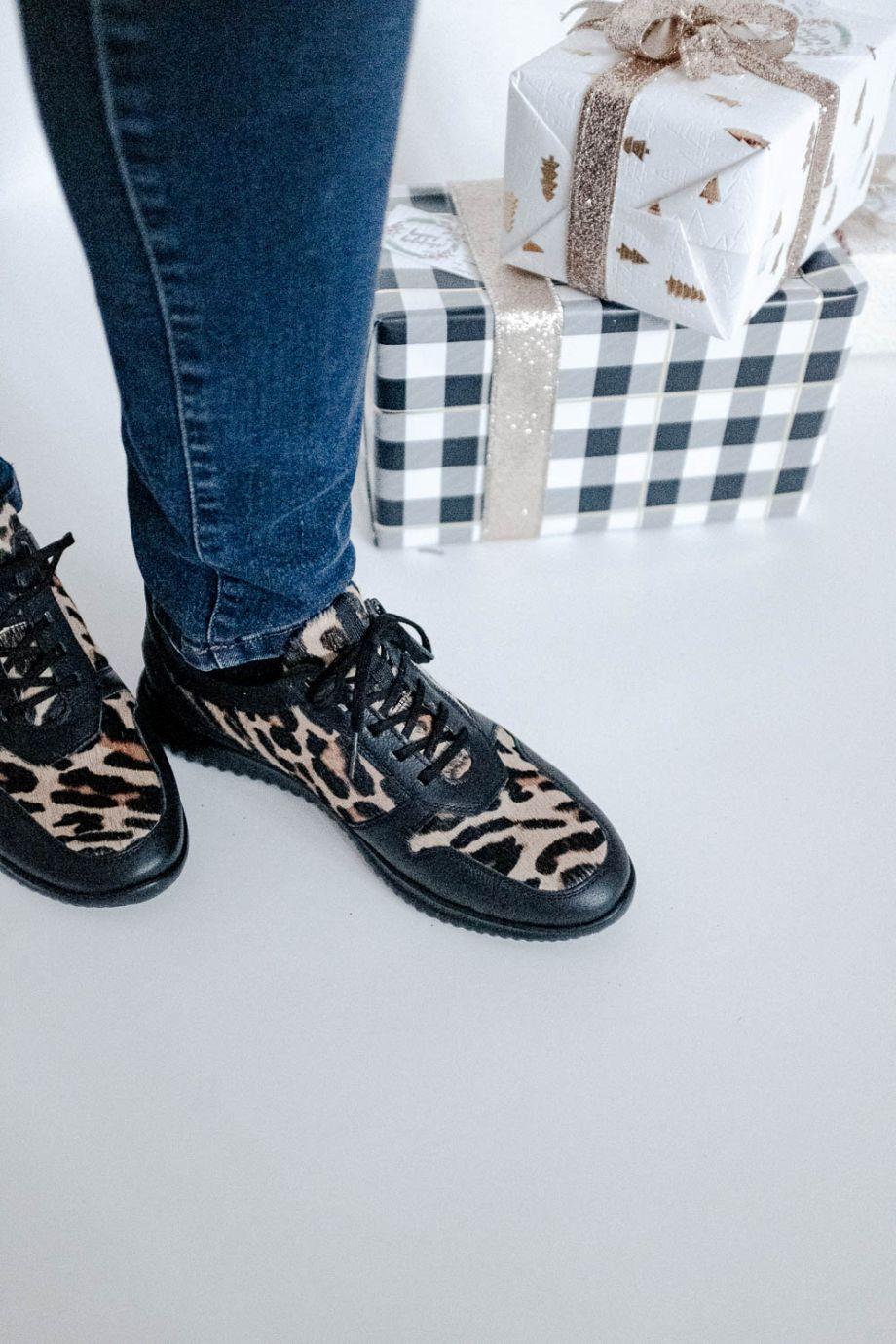 Hübsch gemacht! Ein Schuh und 2 festliche Looks... Hartjes Schuhe