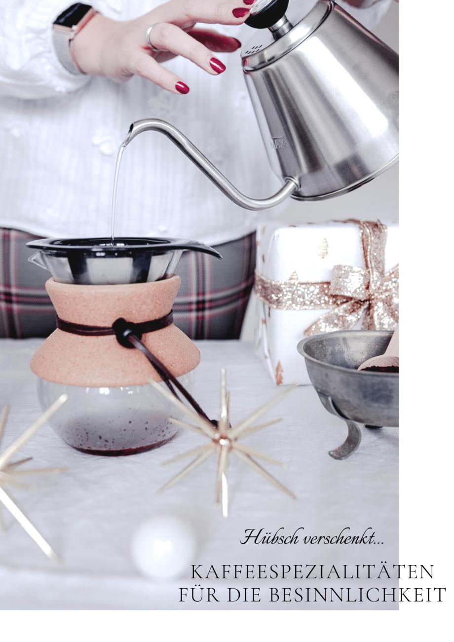 Hübsch verschenkt und warum ich Weihnachten wieder genießen kann... Weihnachten, Kaffee und Geschenkideen mit Tchibo und die Rarität des Jahres 2019.