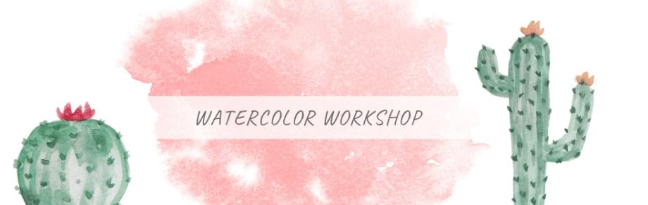 Watercolor Workshops - es wird kreativ & farbenfroh in der Konfettizentrale - Termine für 2020/21 mitten in Leipzig - eine kreative Auszeit.