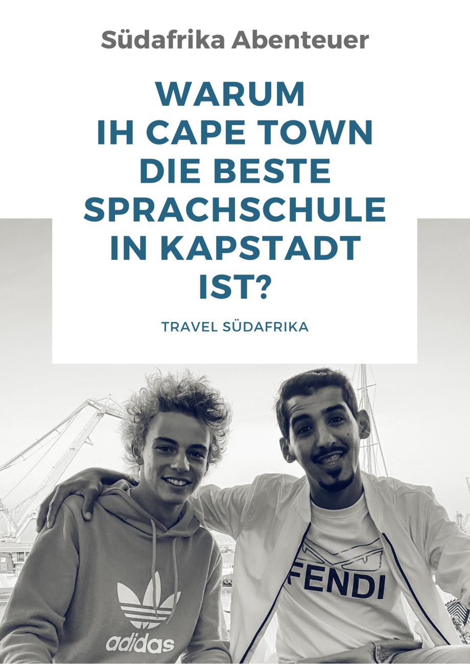 Warum die IH Cape Town die beste Sprachschule in Kapstadt ist!