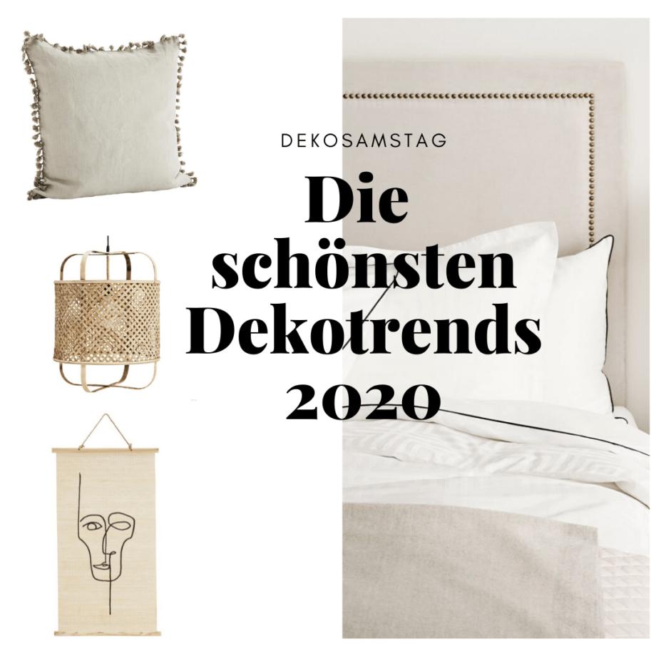 Dekosamstag: Die schönsten Wohn- und Dekotrends 2020!