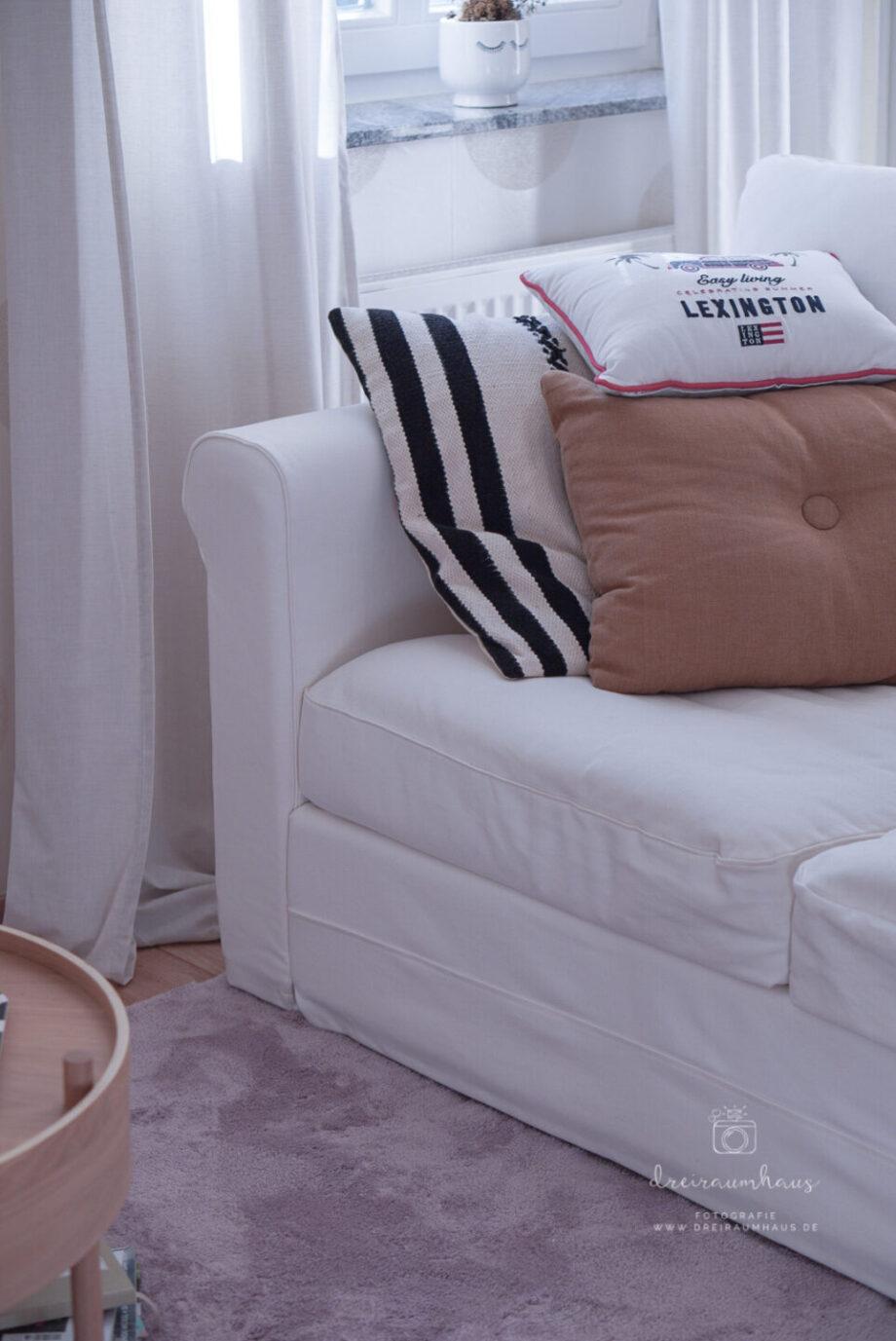 Dekosamstag: Ein kuschelweicher Teppich und ein Ofenpfannkuchen mit Erdbeeren!